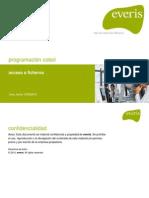 05 - Programacion Cobol- Acceso a Ficheros