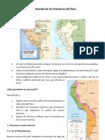 Delimitación de las fronterras del Perú