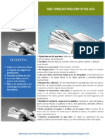 Diez Consejos Para Leer en Voz Alta Folleto.
