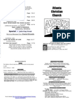 June 2, 2013 Church Bulletin