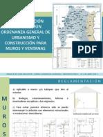 REGLAMENTACIÓN TÉRMICA SEGÚN ORDENANZA GENERAL DE URBANISMO Y