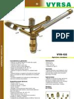 Aspersor Agricola VYR-155