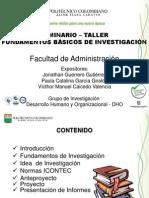 Seminario de Investigacion II B