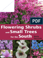 Flowering Shrubs and Small Trees for the South by Marie Harrison