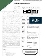High-Definition Multimedia Interface - Wikipedia, La Enciclopedia Libre