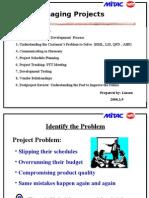 managing project 方法論