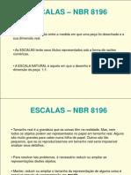 ESCALAS � NBR 8196