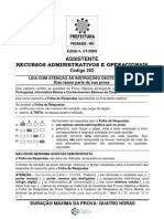 202-Assistente Recursos Operacionais