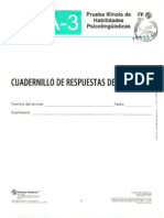 Cuadernillo de Respuestas Del Alumno