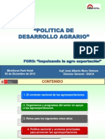 Presentacion Del Sr. Jose Muro