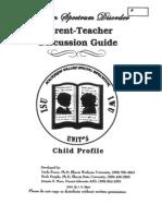 parent teacher discussion guide