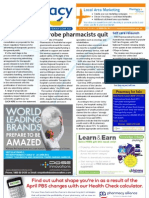 Pharmacy Daily for Mon 03 Jun 2013 - Latrobe hospital pharmacy, Self Care relaunch, ad review, DDS CPD portal and much more