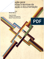 Introdução geral às ciências e técnicas da informação e documentação