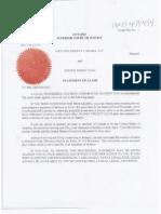 Statement of Claim- Nextera Energy ULC v Esther Wrightman