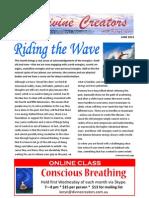 Divine Creators Newsletter - June 2013