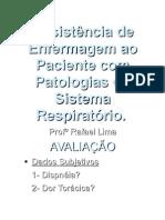 Assistência ao Paciente com Patologias Respiratórias