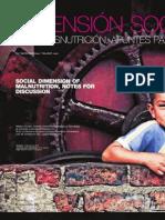 Dimension Socila de La Desnutricion en Colombia