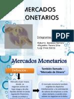 mercados monetarios
