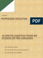 01 PROPRIEDADE INTELECTUAL E SUA ADEQUAÇÃO NAS CONCEPÇÕES JURÍDICAS
