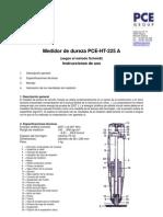 Manual Medidor Dureza Schmidt Pce Ht 225a