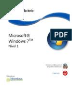 Curso Introductorio Windows 7
