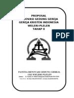 Revisi- Proposal Renov Gki Weleri - Tahap II
