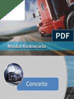 modal - transporte rodoviário