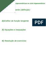 Matemática - Aula 25 - Funções Trigonométrica no ciclo trigonométrico II