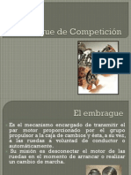 Embragues de Competicion