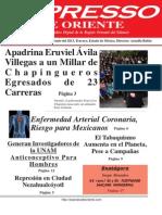 Expresso de Oriente 3 de Junio Del 2013