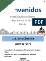 1ra Junta Directiva Sept 2011_Arnold