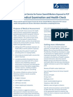 Annual Medical Examination and Health Check