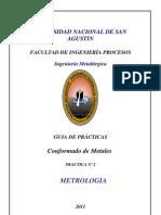 Guia de Practicas Conformado de Metales Metrologia Practica II