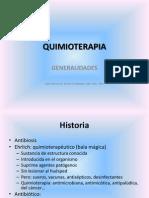 Quimioterapia-generalidades