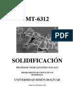 Mt 6312 1 Solidificacion