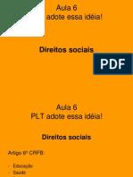 Aula 6 - Direitos Socias