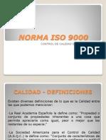 Norma Iso 9000-Temai
