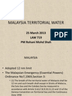Malaysia Territorial Water 25 March 2013