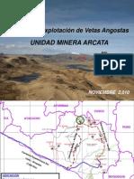 Ponencia Magistral - Unidad Minera Arcata