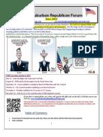 NSRF June 2013 Newsletter