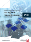 Promoting and assessing value creation in  communities and networks