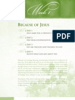 Because of Jesus Lesson 1