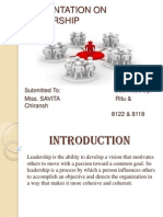 presentationonleadership-110924023828-phpapp01