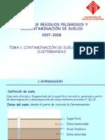 Contaminacion de Agua Subterraneas
