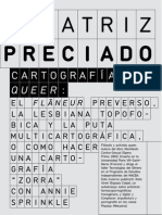 119986533 Beatriz Preciado Cartografias Queer