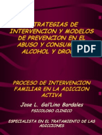 1. Proceso de Intervencion Familiar en La Adiccion Activa - Ps. Gal'Lino