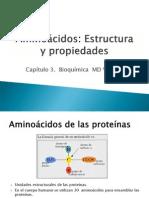3. Aminoacidos Estructura y Propiedades.