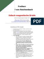 Reichenbach - odisch-magnetische Briefe