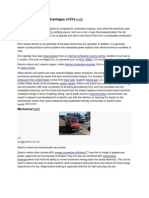 Electrical Vehicles