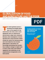 Globalization of Food and Agriculture and the Poor